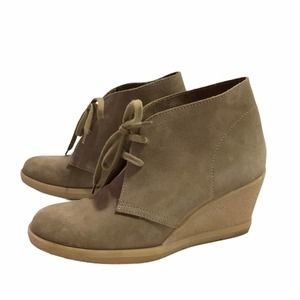 J. Crew Factory Suede Lace Up Boots